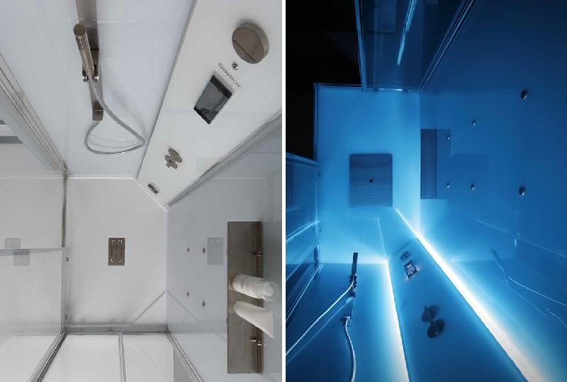 cabina doccia multifunzione White Space Vapor di Grandform