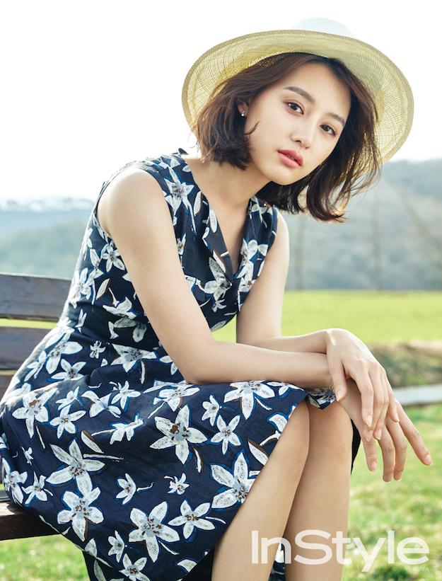 Kim Ji Won, Kim Ji Won Instyle  2016