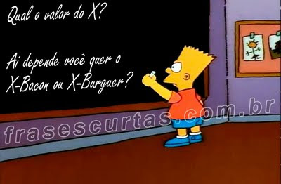 simpsons humor na escola