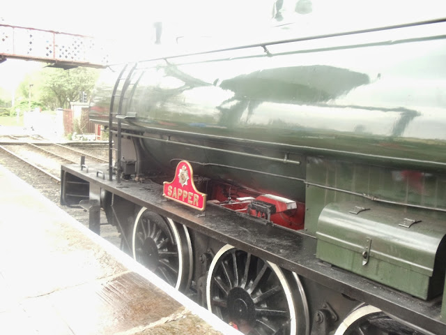 A steam engine