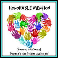 Pammie's Inky Pinkies Honarable Mention