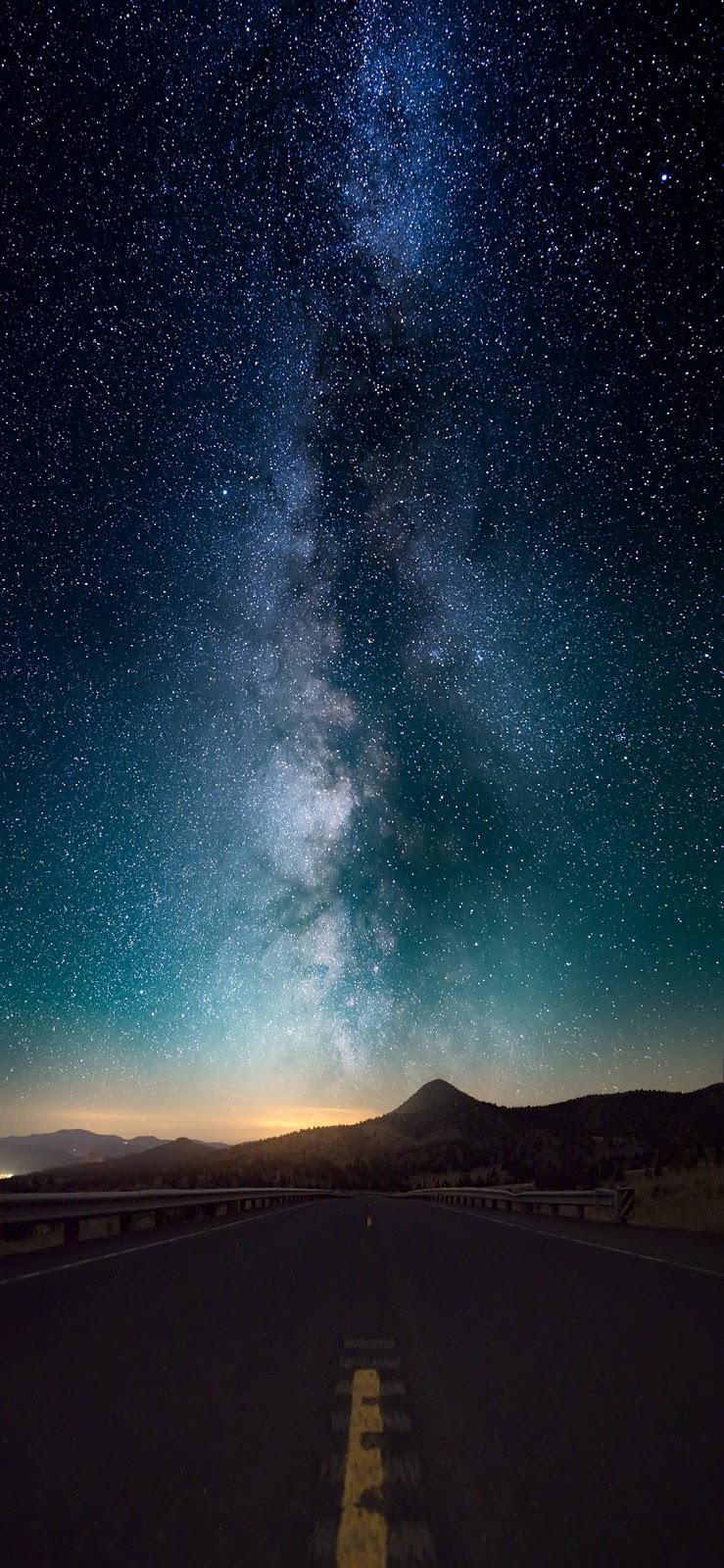 Starry night (iPhone X)