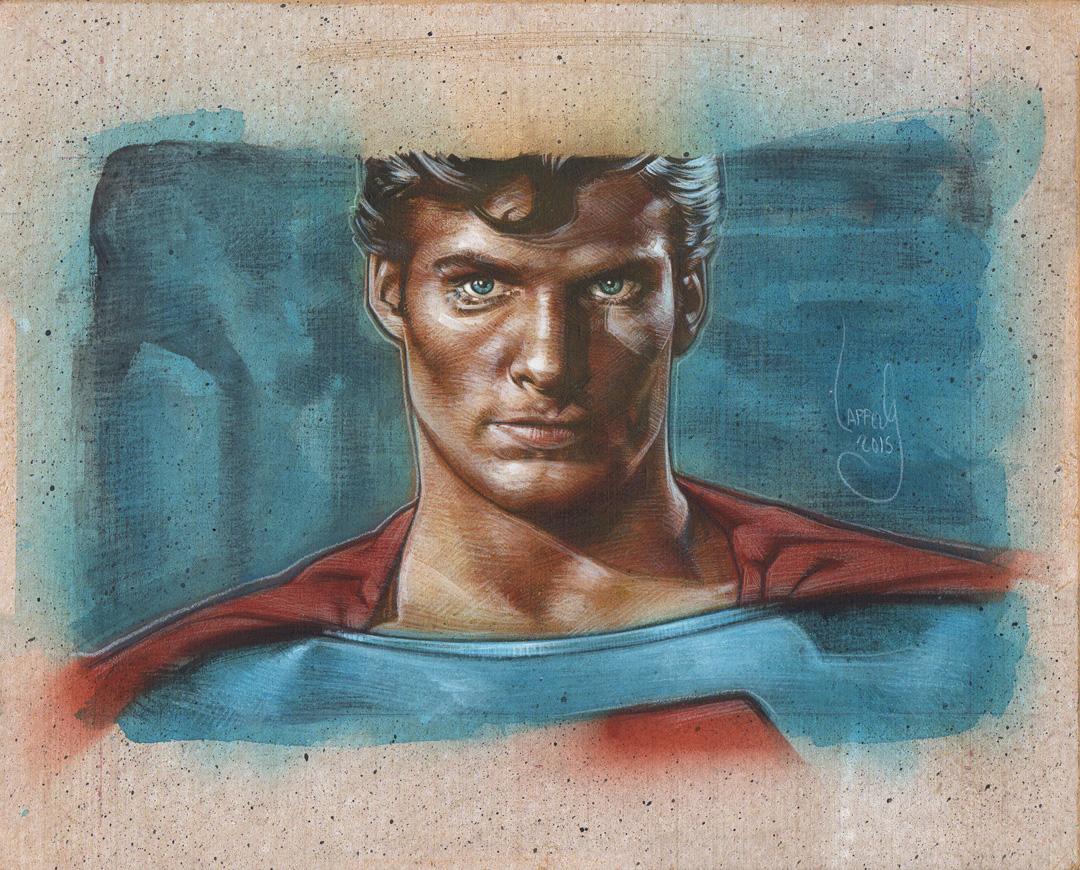 Superman, Artwork is Copyright © 2015 Jeff Lafferty