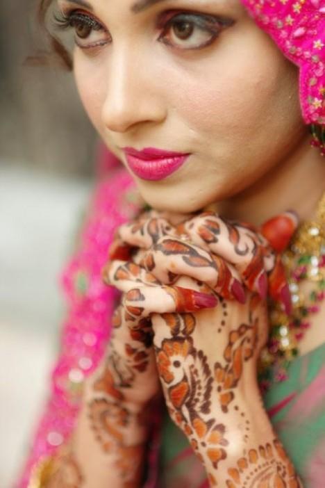 Muslim Girl In Hijab Wallpaper Allentryupdate24 Bridal Mehndi Designs