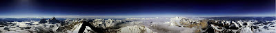 360 degree Panoramic View from Mount Everest