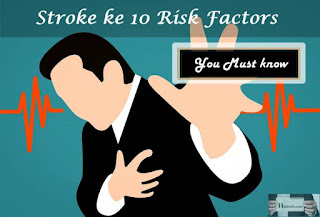 Stroke ke 10 Risk Factor in Hindi