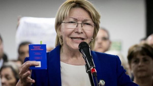 """Luisa Ortega Díaz dice que el país está """"ante un nuevo gobierno de facto"""""""