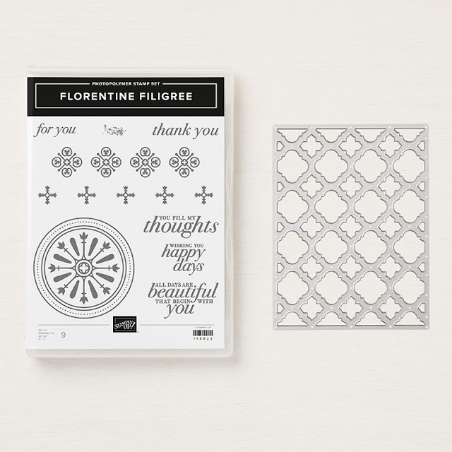 Florentine Filigree bundle Stampin Up