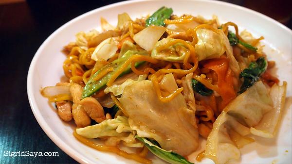 Bacolod Japanese restaurant - Izumi Japanese Kitchen - Bacolod restaurants