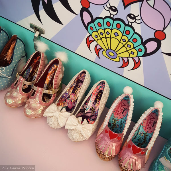inside irregular choice mermaid giant shoe storage box