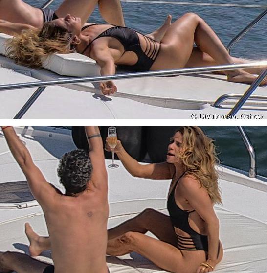 Atena (Giovanna Antonelli) A regra do jogo, Maiô