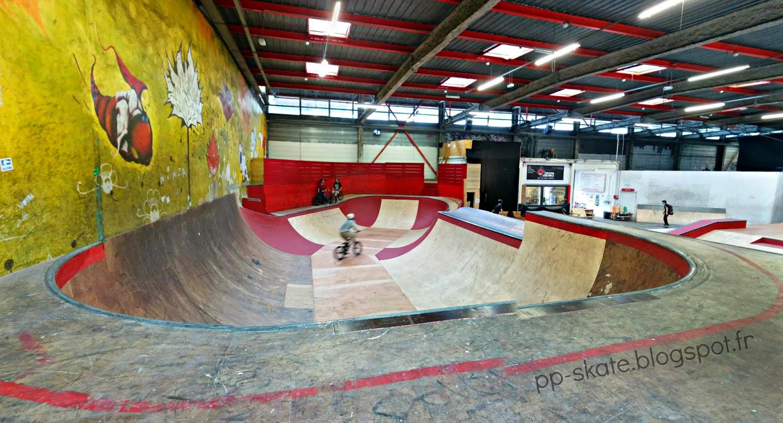skatepark Grenoble La Bifurk
