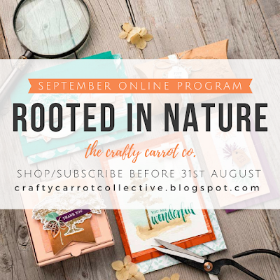 Rooted In Nature / Nature's Poem Online Classes September 2018 - The Crafty Carrot Collective