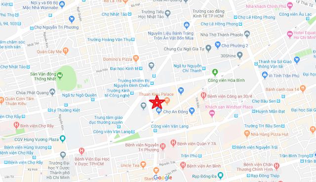 Bán nhà Hẻm xe hơi đường Nguyễn Tri Phương, phường 9, Quận 5