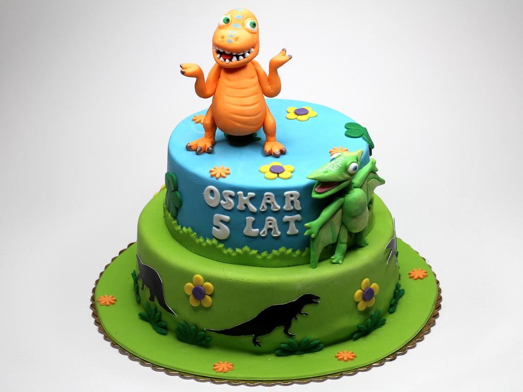 Dino Train Cake