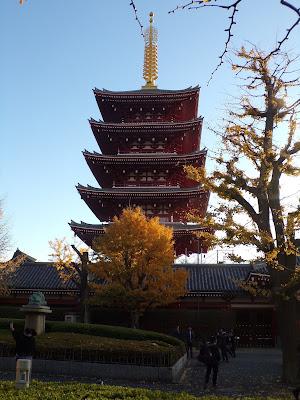 Pagoda de cinco pisos sensoji