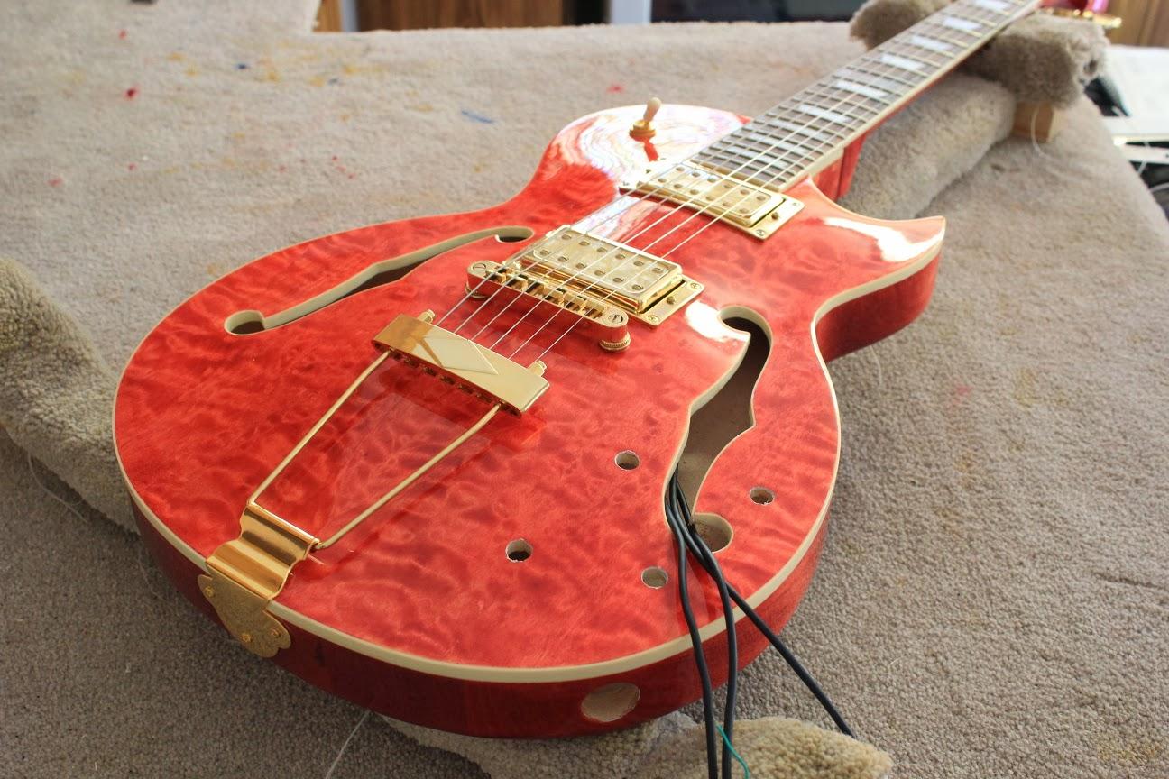 gfs dream 180 wiring diagram trail tech vector guitar kit builder les paul florentine polishing done