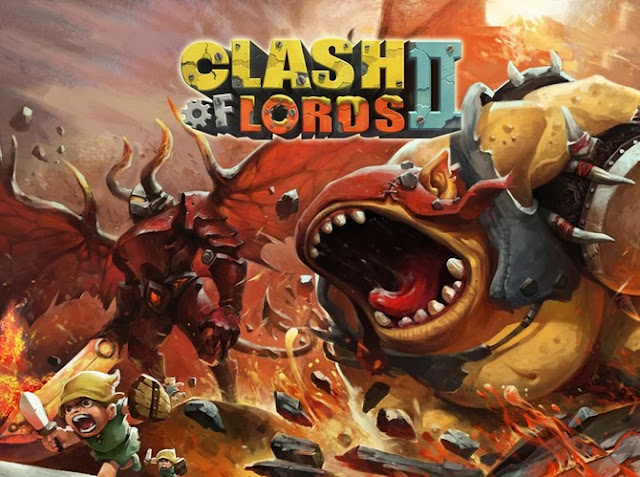 Download Clash of Lords 2 Mod Apk Data Game