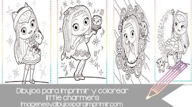 Dibujos para imprimir de little charmers