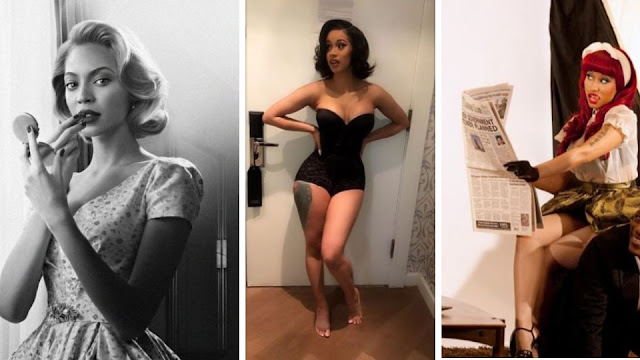 how to get a pin up look, what is pinup fashion, pinup fashion blog, cardi b vs nicki, cardi b vs beyonce,