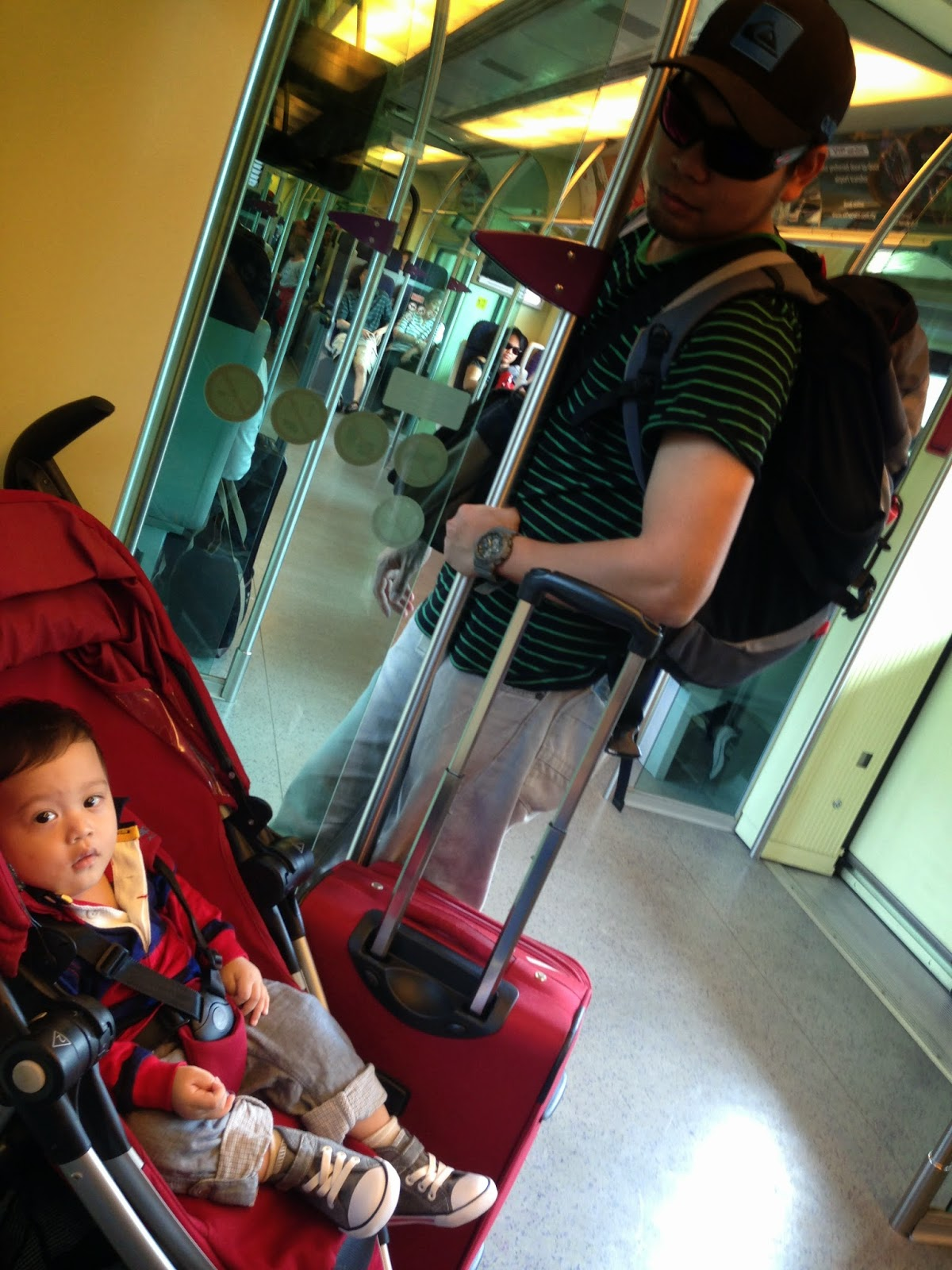 me + myself: Info on Travelling with baby stroller at