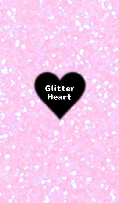 Pink Glitter and Heart Theme.