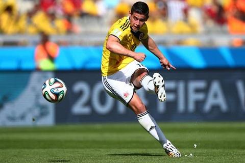 James Rodriguez có lỗi chơi cực hay tại World Cup 2014