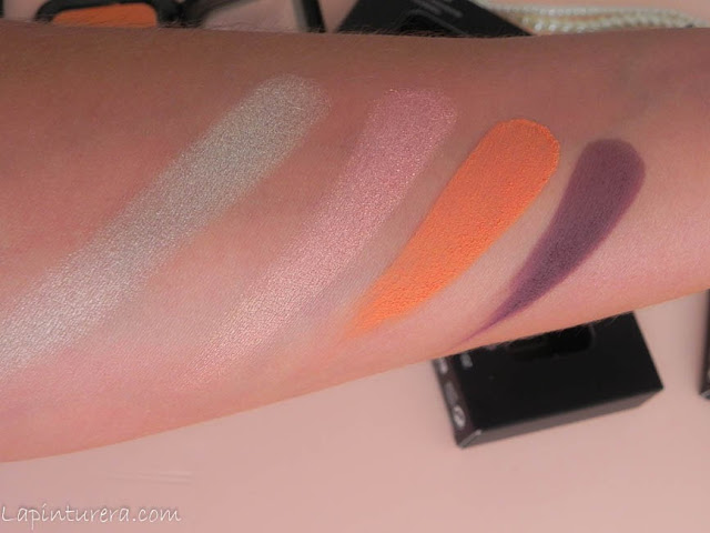 swatches sombras