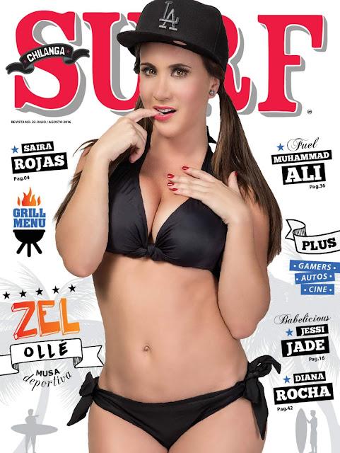 Mariazel Olle bikini Chilanga Surf Julio Agosto 2016 [FOTOS]