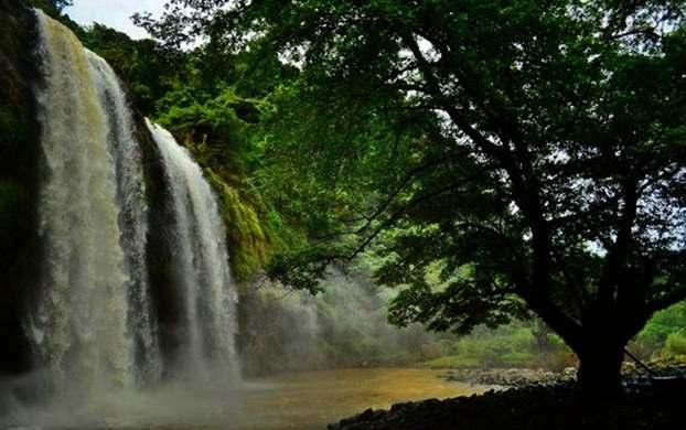 Gambar wisata alam Curug Sodong, Ciemas, Kabupaten Sukabumi