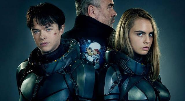 Valerian: E A Cidade Dos Mil Planetas, de Luc Besson, tem imagem inédita revelada na SDCC