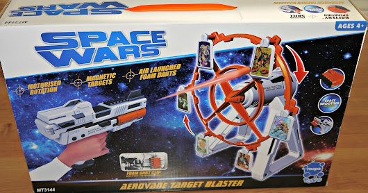 Space Wars Aerovane Target Blaster Review