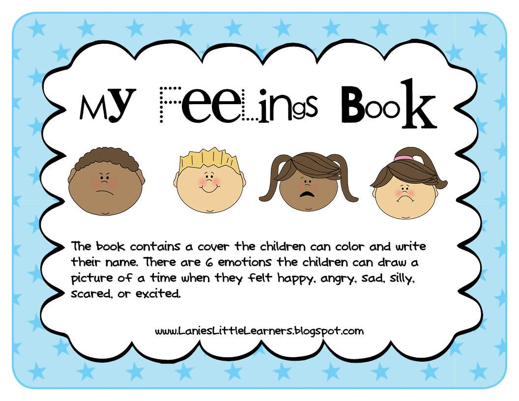 Lanie 39 S Little Learners Preschool Feelings Theme