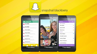 snapchat for balckberry