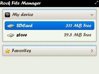 Download Rock File Manager Untuk Bb 8520