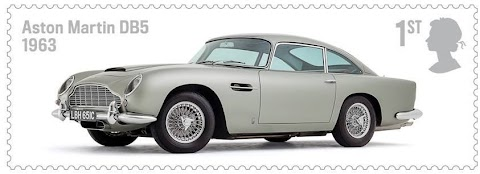 Royal Mail Release British Motoring Stamps