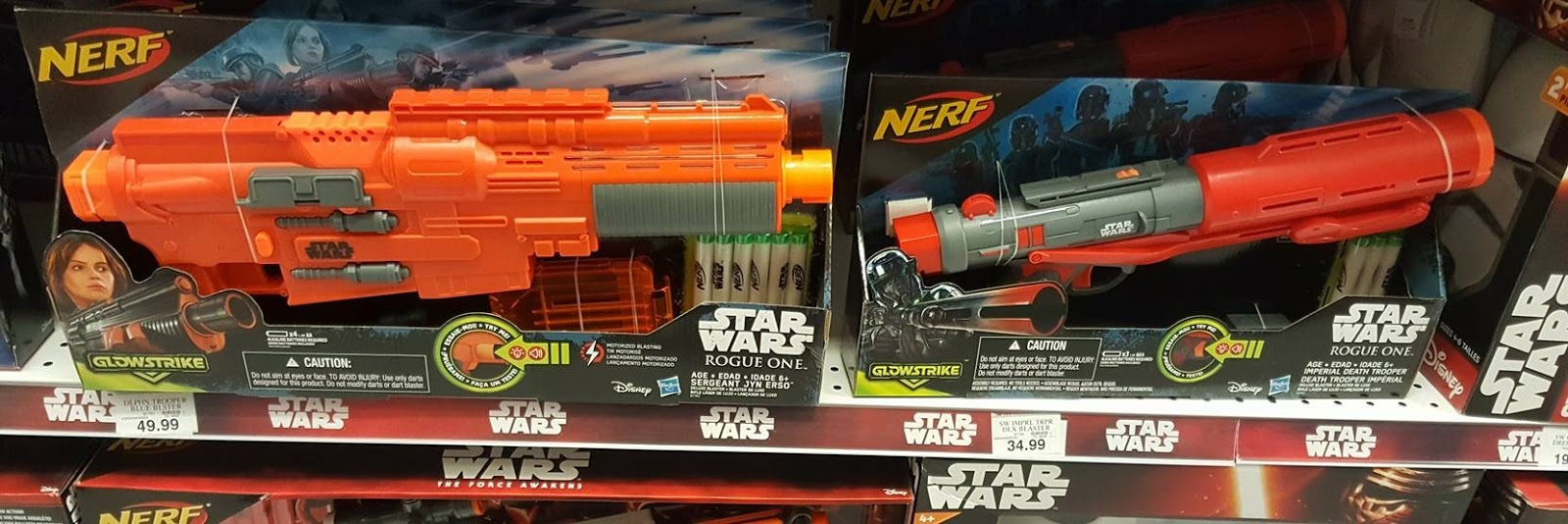 Bay Area Nerf: Are the new Rogue One blasters everything we