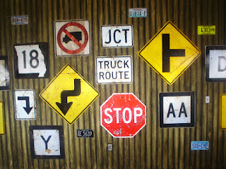 Photo of street signs by Joe Rooster