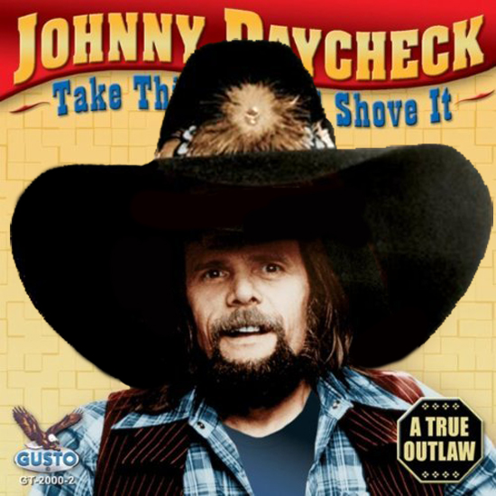 Farce The Music Parody Album Covers Johnny Paycheck Jamey Johnson