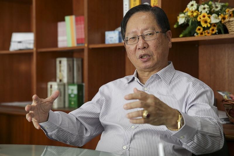 Dong Zong Chairman Datuk Vincent Lau
