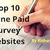 Top 10  online paid survey websites