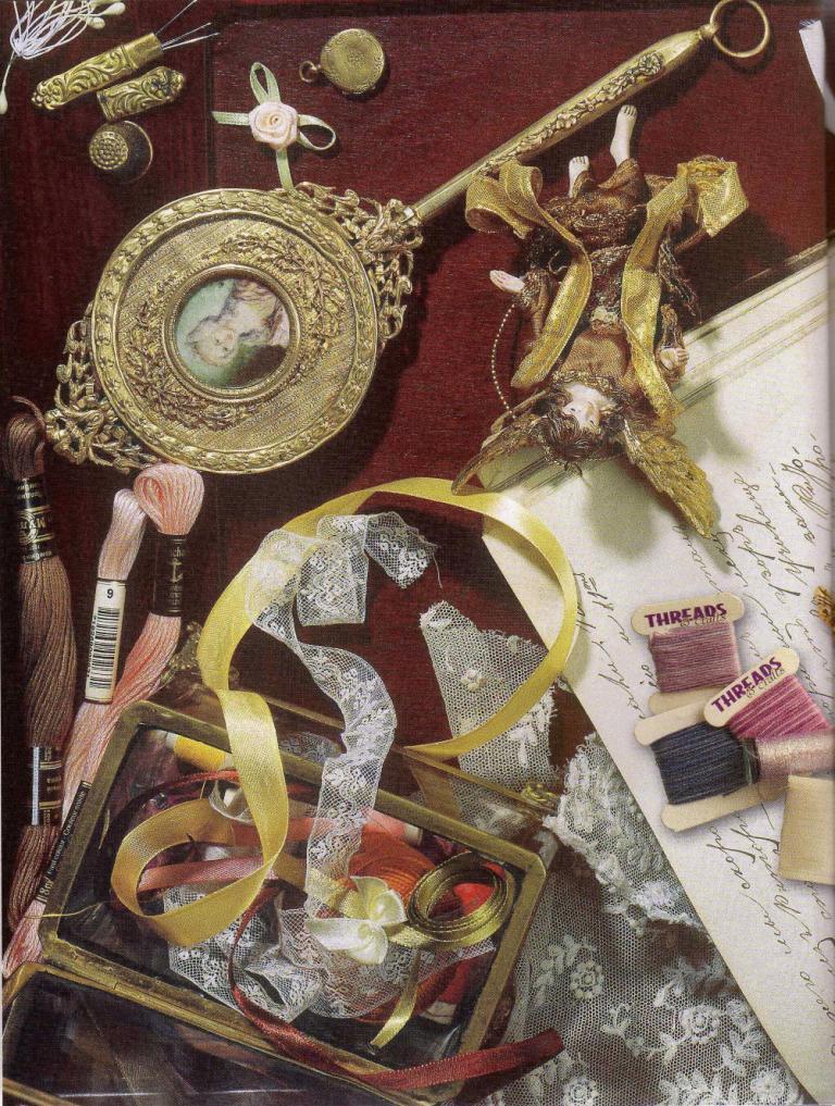 Объемная вышивка. Энциклопедия вышивки. Часть 1 (2)