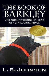 book of barkley, l b johnson, nonfiction dog book, labrador book