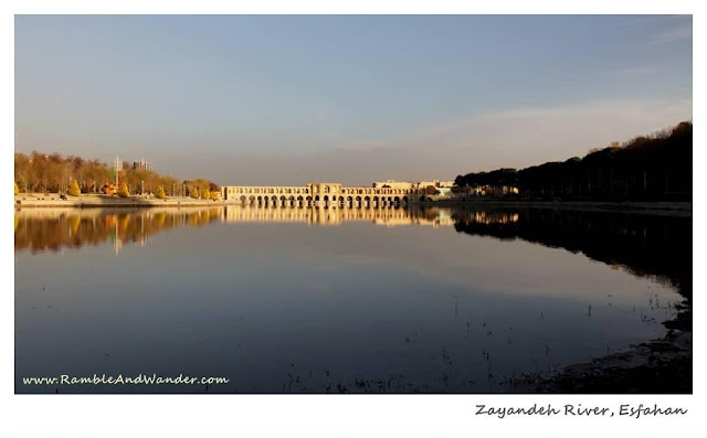 Iran: Bridges of Esfahan - Joui Bridge - Ramble and Wander