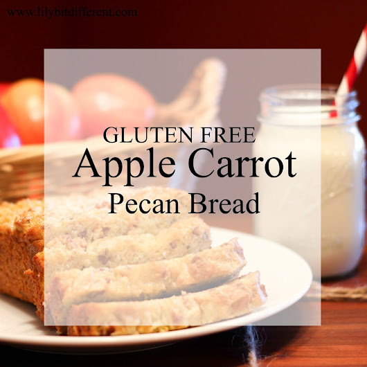Apple Carrot Pecan Bread