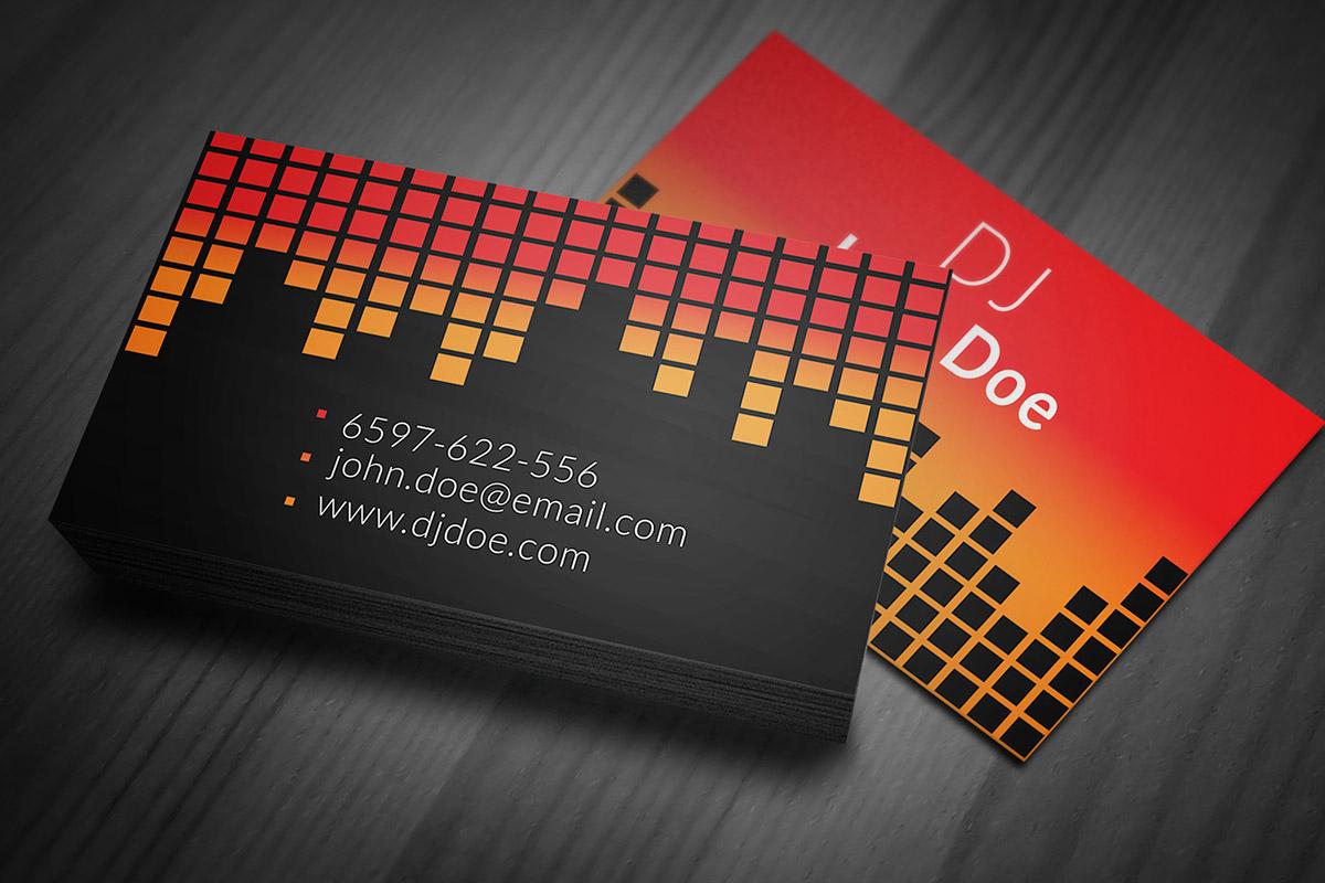 DJ Business Cards - Business Card Tips