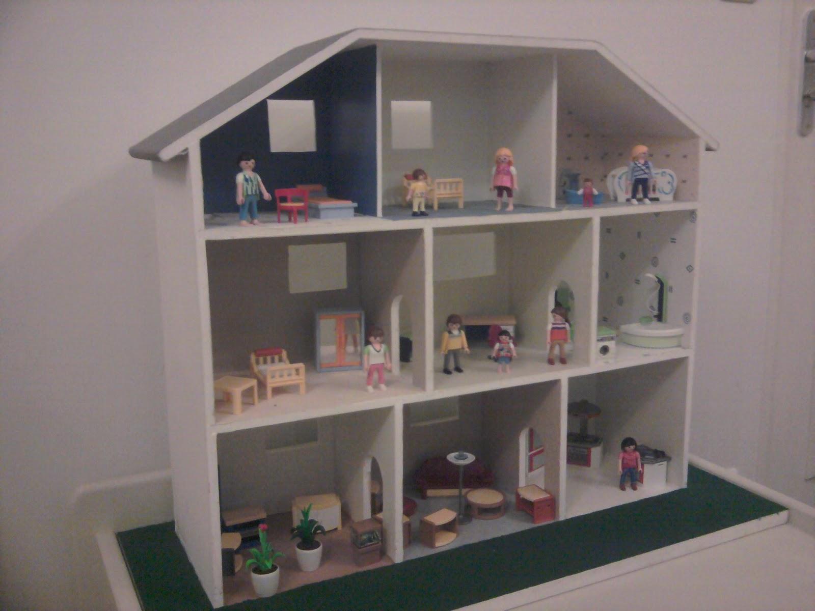touche du bois maison de playmobil. Black Bedroom Furniture Sets. Home Design Ideas