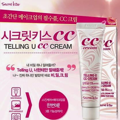 Review: Secret Kiss CC Cream Telling U