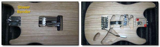 Sistema B-Bender Glaser Bender Guitarra