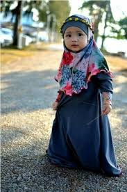 Baju Muslim Anak Perempuan Lucu